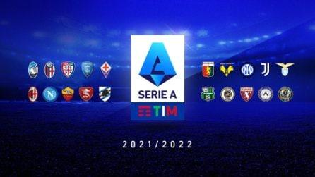 Serie A 2021/22, tutte le giornate del prossimo campionato