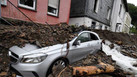 Germania, maltempo diversi morti e dispersi a ovest del Paese