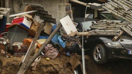 Germania-Belgio, spazzate via case e auto: le immagini della catastrofe