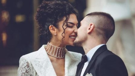 Jessica Aidi, i 4 abiti da sposa per il matrimonio con Marco Verratti