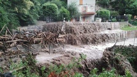 Emergenza maltempo a Como e provincia: torrenti esondati, case e strade invase dal fango