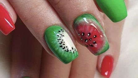 Le unghie colorate come i frutti estivi: la nuova moda per la nails art