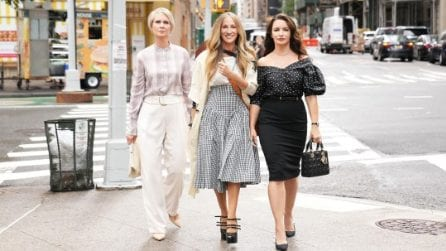 And Just Like That: i look glamour di Carrie, Charlotte e Miranda