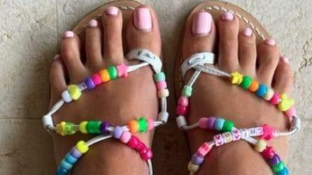 Le scarpe di Chiara Ferragni per l'estate 2021