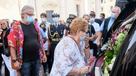 Le foto dei funerali di Gianfranco D'Angelo