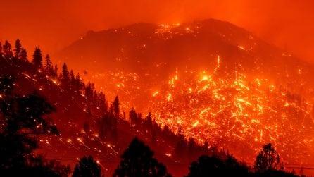 Brucia ancora la California: le immagini sono impressionanti