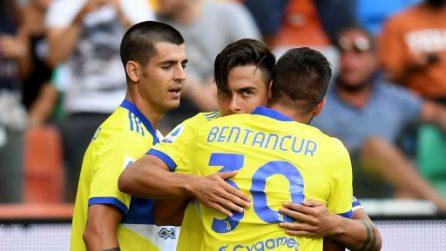 Udinese-Juventus, le immagini della 1a giornata di Serie A
