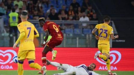 Roma-Fiorentina, le immagini della 1a giornata di Serie A