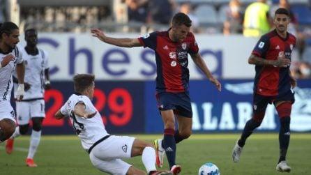 Le immagini di Cagliari-Spezia, 1a giornata Serie A 2021/2022