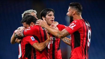 Serie A 2021/2022, le immagini di Sampdoria-Milan