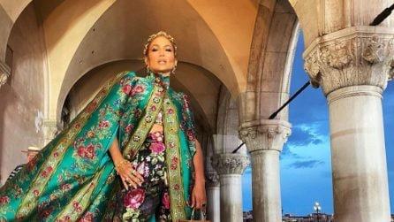 Le star alla sfilata Dolce&Gabbana Alta Moda
