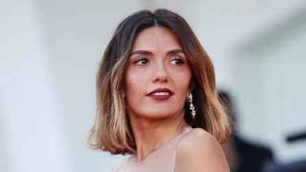 Venezia 78: le foto di Serena Rossi alla cerimonia di apertura