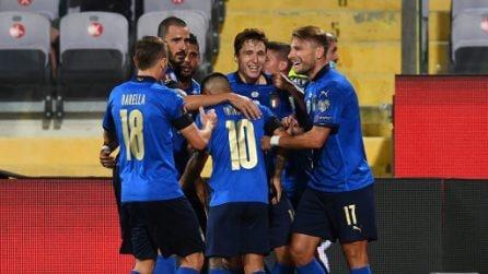 Qualificazioni Mondiali 2022, le immagini di Italia-Bulgaria