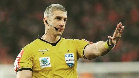 Anderson Daronco, l'arbitro bodybuilder che incute timore ai calciatori durante le partite