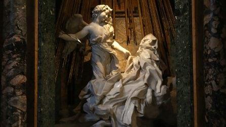 L'Estasi di Santa Teresa, uno dei tanti capolavori del Bernini a Roma