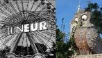 Le foto e i simboli storici del Luneur, il parco adesso è dedicato ai bambini