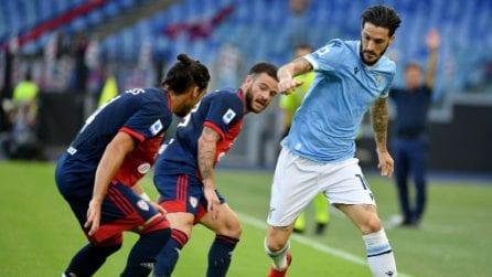Serie A 2021/2022, le immagini di Lazio-Cagliari
