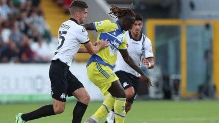 Spezia-Juventus, le immagini della 5a di Serie A