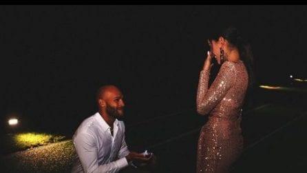 Marcell Jacobs, la proposta di matrimonio per Nicole