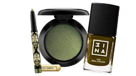 Verde oliva, tutti i cosmetici da provare per il tuo beauty look di Ottobre