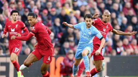 Premier, le immagini di Liverpool-Manchester City