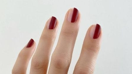 Half nails, la manicure dell'autunno 2021