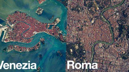 L'Italia vista dallo Spazio: Roma, Napoli, Venezia e molte altre città