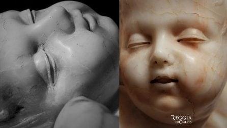 Trovato tesoro nella Reggia di Caserta: è la statua di un neonato realizzata da Sanmartino