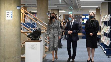 Kate Middleton, il suo autunno è all'insegna del pied de poule
