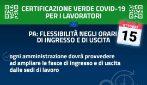 Green pass obbligatorio al lavoro: le linee guida del Governo