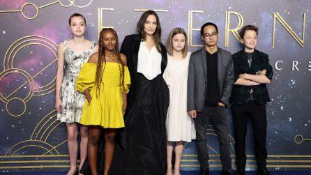 L'abito riciclato indossato dalla figlia di Angelina Jolie
