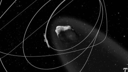 La sonda 'Rosetta' è giunta nell'orbita della cometa, ecco quando atterrerà