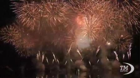 La festa di Ginevra, in migliaia assistono al fantastico spettacolo pirotecnico