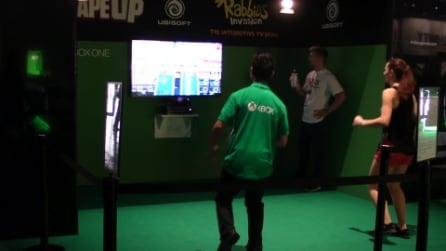 Shape Up - Xbox One Kinect gameplay #Gamescom2014