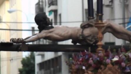 Passione e morte di Cristo, la tradizionale processione di Siviglia