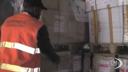 Partiti aiuti umanitari italiani per il Centrafrica
