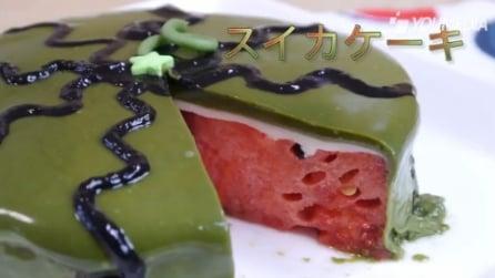 La torta ripiena di anguria