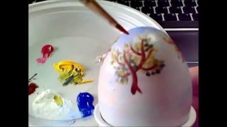 Come realizzare un uovo decorato, il tutorial