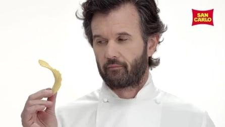 Le ricette di Cracco per San Carlo: la mousse di prosciutto