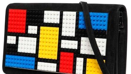 Con i mattoncini Lego la borsa diventa trendy: l'idea è italiana
