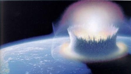 Impatti degli asteroidi sulla Terra più potenti della bomba a Hiroshima