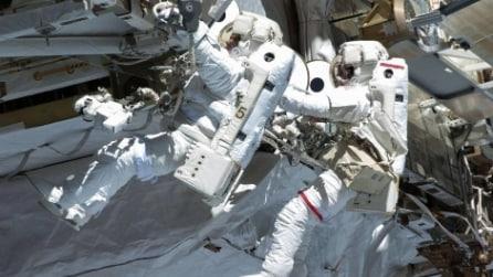 Passeggiata spaziale per due astronauti sulla Iss