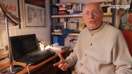 """Manlio Santanelli: """"La scrittura è una ginnastica della fantasia"""""""