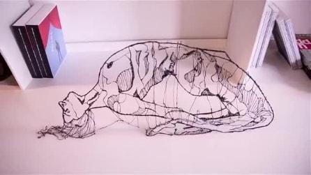 La nuova stampante 3D a forma di penna