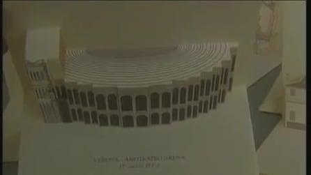 Servizio di Telenuovo (TG Verona) sulle mie cartoline 3D Popup Kirigami