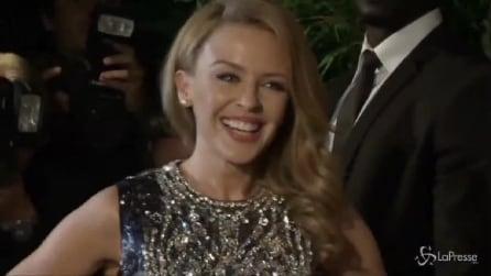 Kylie Minogue, principessa firmata Dolce&Gabbana al Magnum party di Cannes