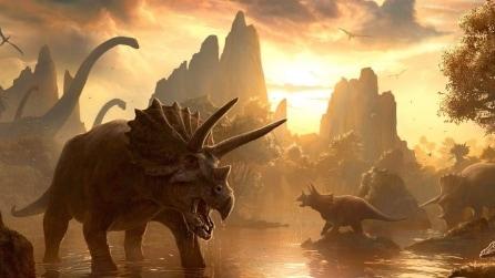 Trovata prova raffreddamento globale che estinse i dinosauri