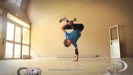 Nessuno balla la break dance come lui