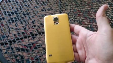 Galaxy S5 in Alluminio - il primo video della versione Prime