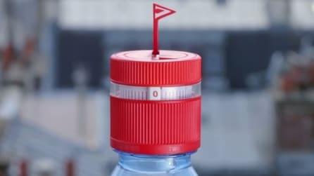 Ecco il tappo della bottiglia che ti ricorda di bere